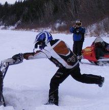 Snowmobiling in Nipawin, Saskatchewan