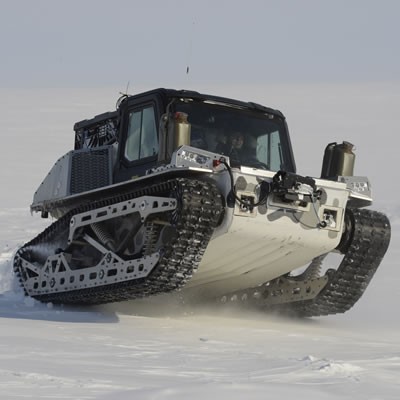 Polaris' new all-terrain vehicle, the Rampage.
