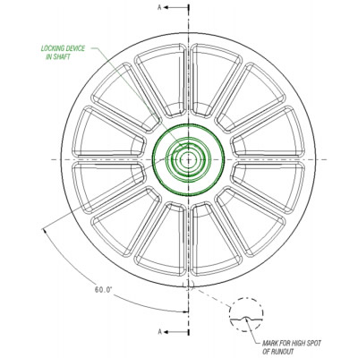 Damping clutch technology graphic.