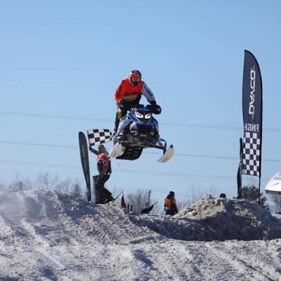 Ski-Doo CSRA Pro Lite racer Scott Vandeborne.