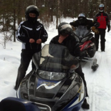 Trail riding around Foam Lake. Photo courtesy Colette Melnychuk.