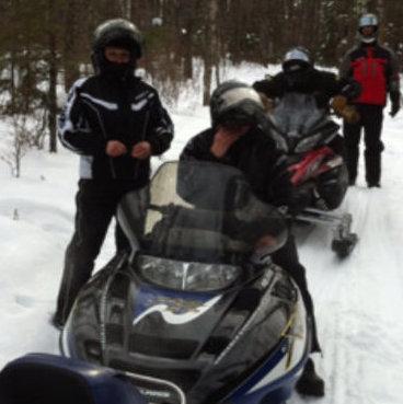 Trail riding around Foam Lake. Photo courtesy Colette Melnychuk.