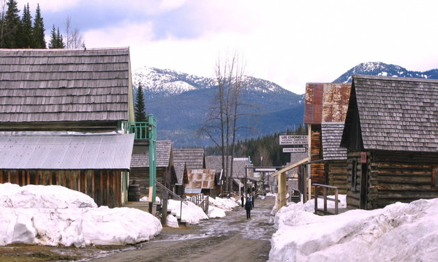 Snowmobiling around Wells and Barkerville is a blast.