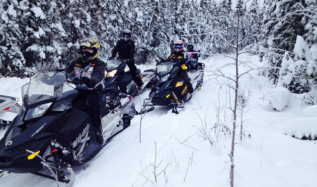 Smoky Lake offers some of Alberta's top snowmobiling terrain.