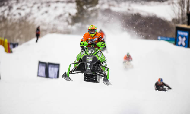 Ryan Simons racing hillcross at X Games.