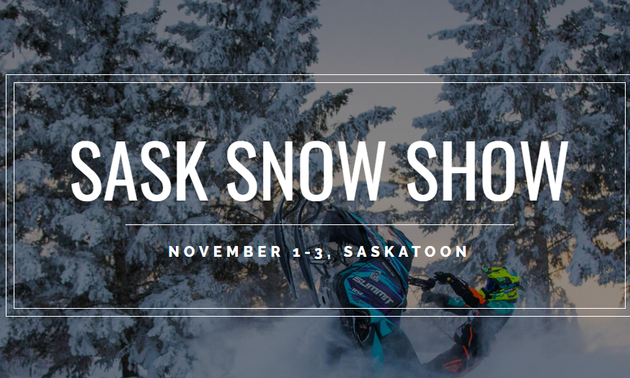 Poster for Saskatchewan Snowmobile Show and Sale