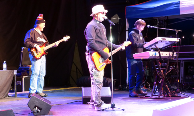 Sawyer Brown playing in West Yellowstone, Montana.