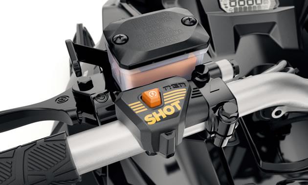 SHOT electric starter system for Ski-Doo.