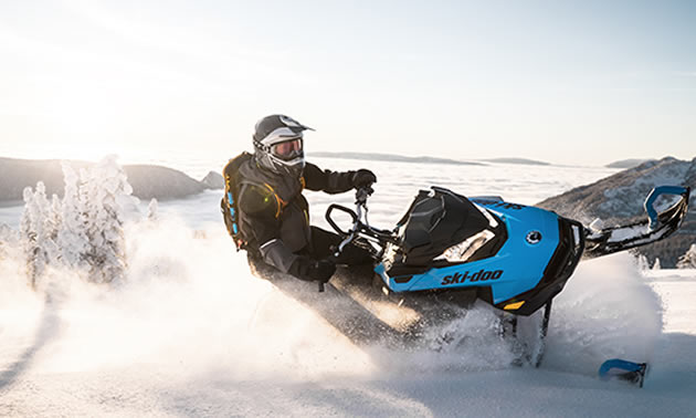 The 2019 Summit SP Ski-Doo Snowmobile is one of many models that uses the SHOT starter.
