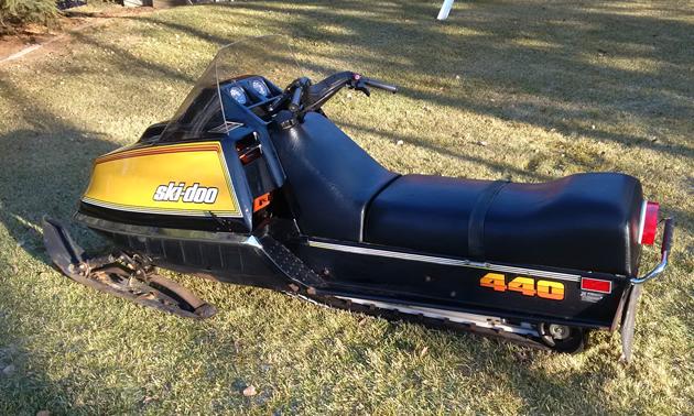 Ski-Doo 440 T'NT sled.
