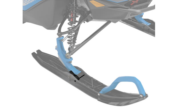 The new Rapid Adjust Ski Stance kit is easy and fast to use.
