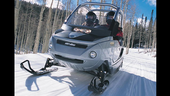 Picture Of The 2005 Ski Doo Elite A Two Seater Snowmobile