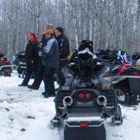 snowmobiling in Alberta