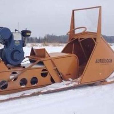 A Polaris Autoboggan—