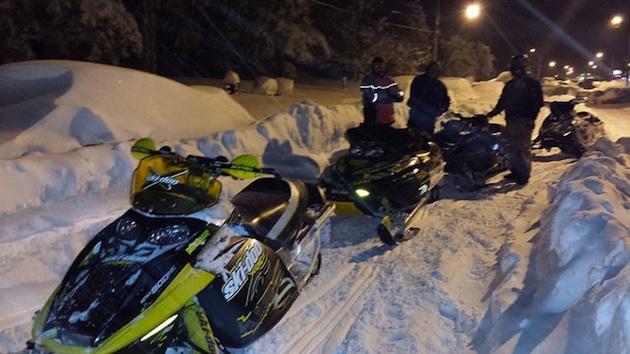 snowmobiles in Buffalo, New York