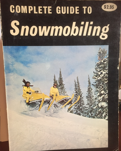 Old snowmobile book.