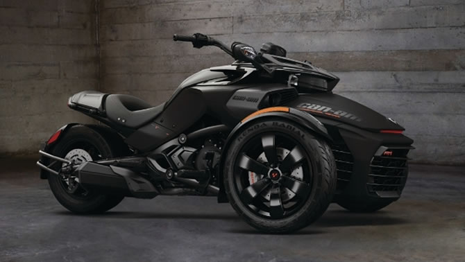 Brp Unveils 2016 Can Am Spyder F3 S Special Series At Sturgis