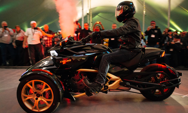 Special edition Spyder models were unveiled at a Gala event at BRP headquarters in Quebec.