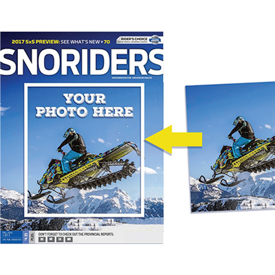SnoRiders magazine cover contest