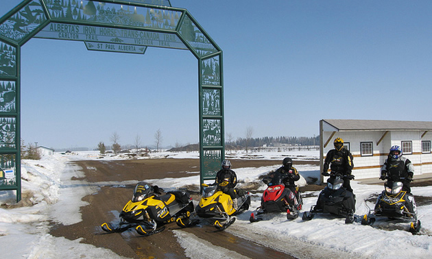 St. Paul snowmobiling