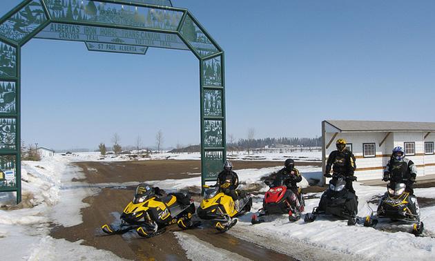 St. Paul snowmobiling