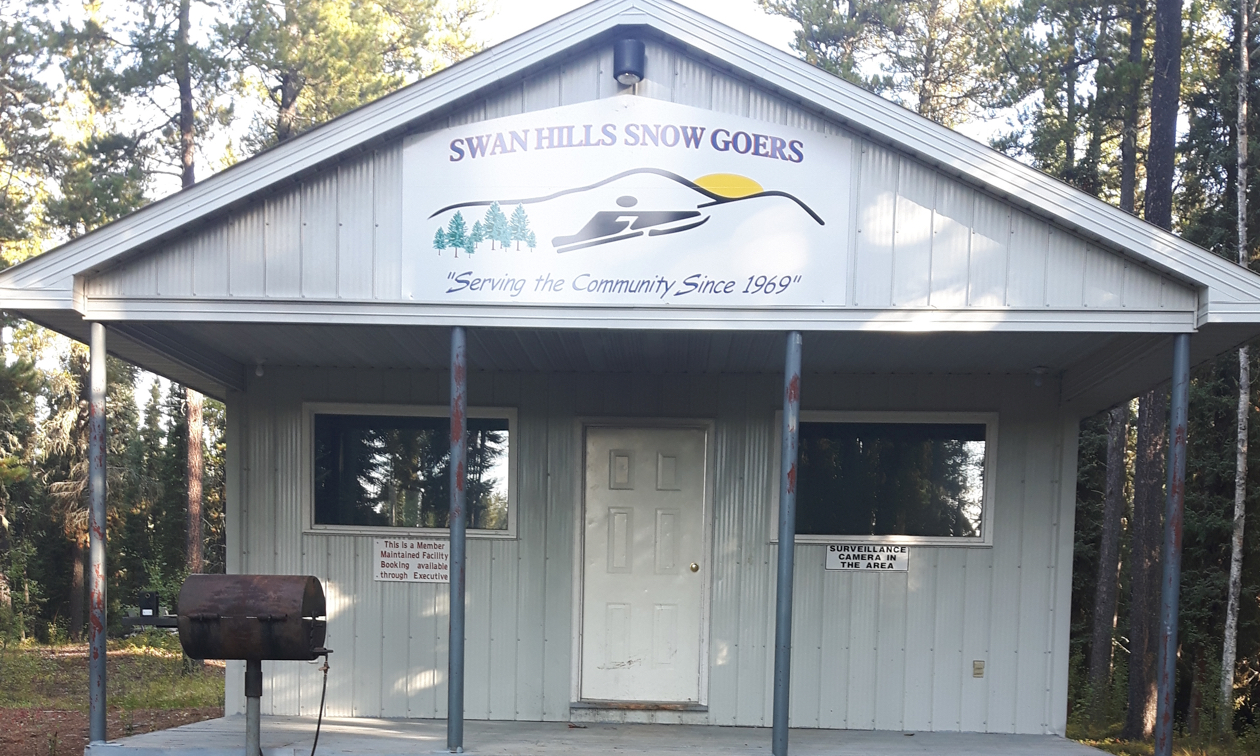 The Snow Goers new Clubhouse of Swan Hills.