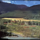Photo of aerial view of ranch