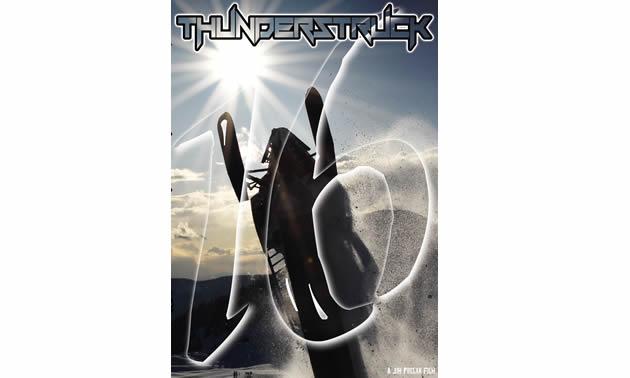 Cover art for Thunderstruck 16.
