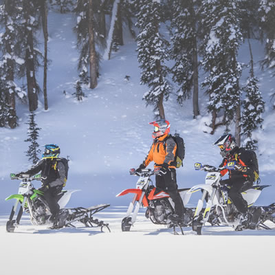 Timbersled group ride.