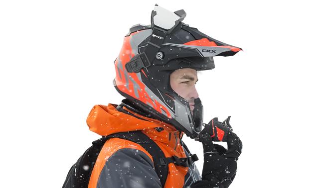 5dc9a1780f4 A man wearing a Titan Helmet