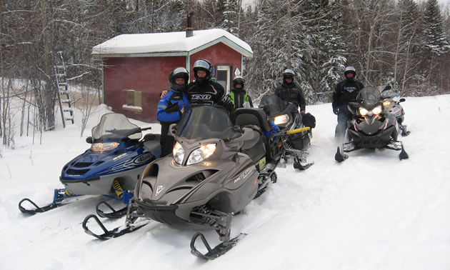 Where to get snowmobile trail passes and maps for The Pas, Manitoba ...