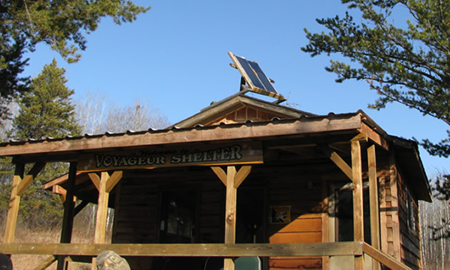 Picture of shelter called 'Voyageur'