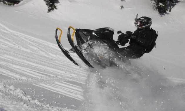 Whitecourt is known as Alberta's sledding capital. - Dave Bradley photo