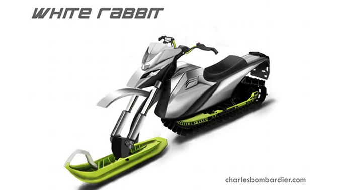 The White Rabbit concept sled.