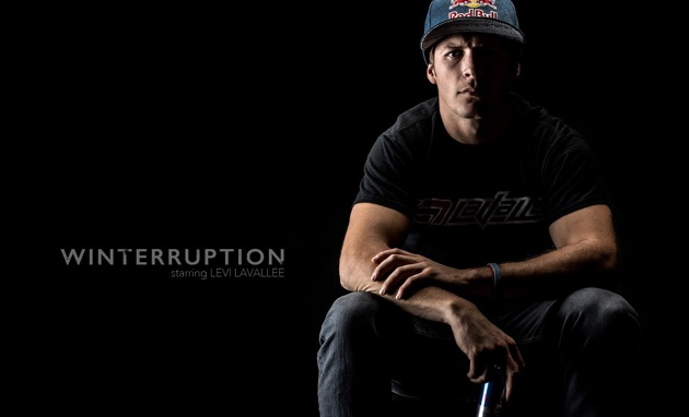 Up close and personal, the new Winterruption web series stars Levi LaVallee like you've never seen him before.