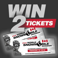Enter to win tickets to the WSI Snowmobile Freestyle Event
