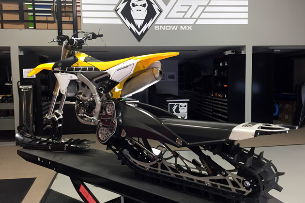 The Yeti Snow MX at C3 PowerSports shop.